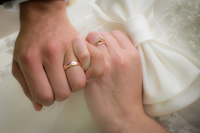 New Wedding Rings Together