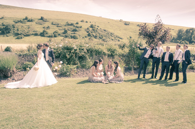 The Wedding Party, Tottington Manor, Sussex