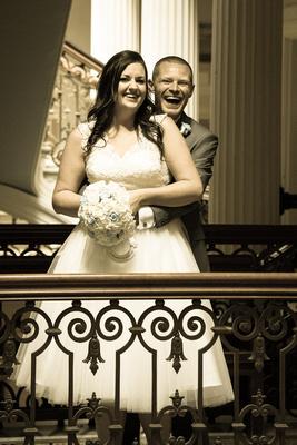 Bride and Groom, Brighton Town Hall