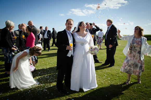 Wedding Tableaux, Cooden Beach Hotel