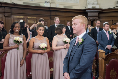 Just Before the Ceremony, Islington Town Hall
