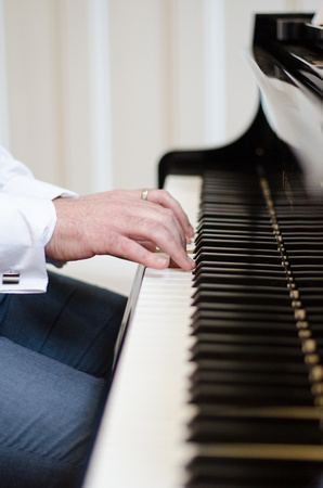 Wedding Pianist at St Bride's Foundation, London