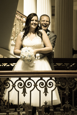 Bride and Groom, Brighton Town Hall